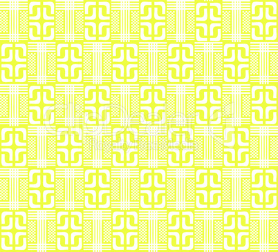 Yellow abstract geometric pattern for the background, (vector)