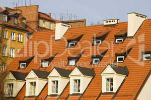 Attic Tiled Roof