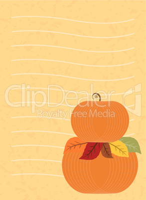 Vector Halloween Greeting Card Design