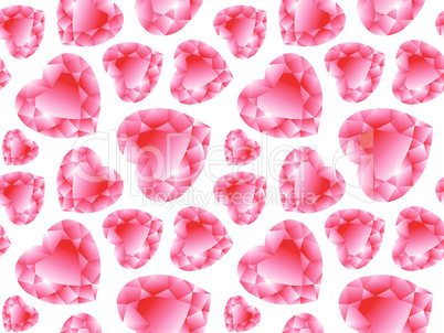 valentine diamonds pattern