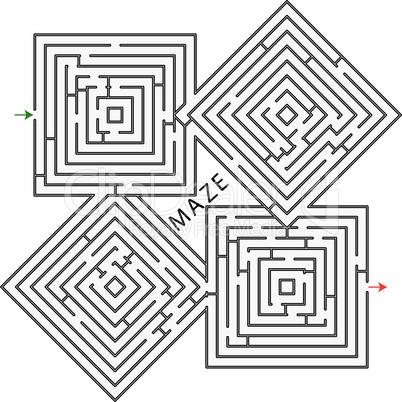squares maze.eps
