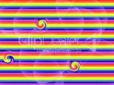 rainbow mixed texture