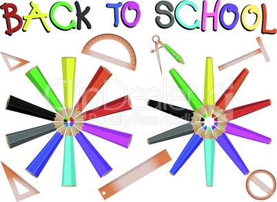 pencils school banner
