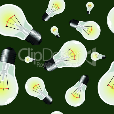 light bulbs seamless texture
