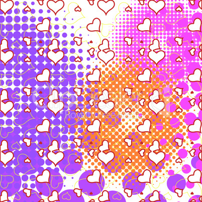hearts and bubbles pattern.eps