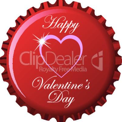happy valentine bottle cap.eps