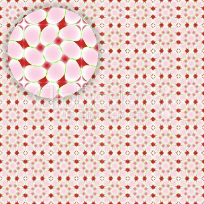 flowerish seamless pattern with detail