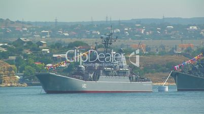 Day of Russian Navy.