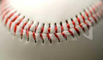 Base ball close up