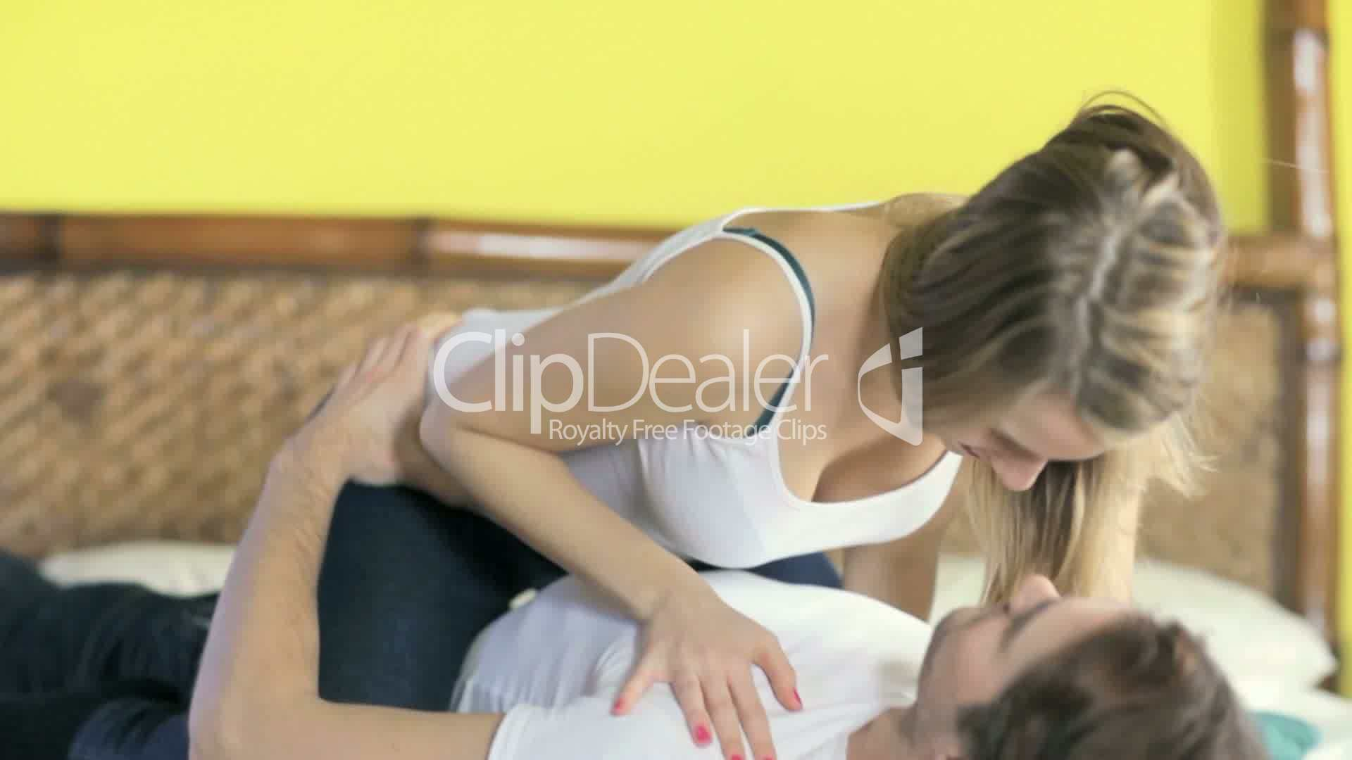 Romance Between Husband And Wife Royalty-Free Video And -7846