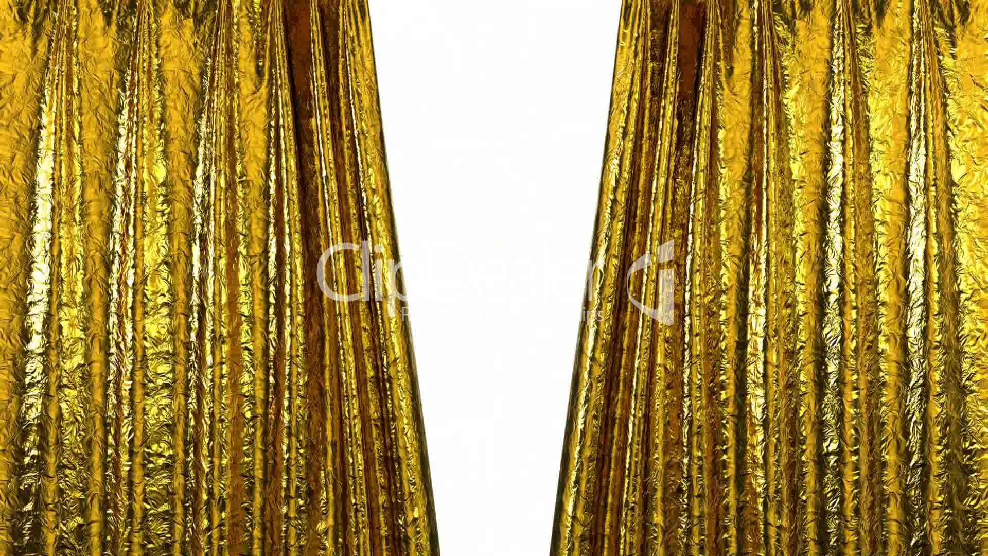 Curtain Opening Gold Hd Royalty Free Video And Stock Footage