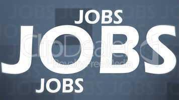 Creative image of grey jobs concept