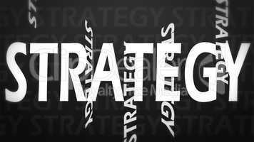 Creative image of strategy concept