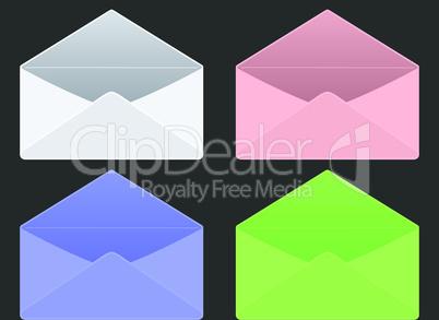 empty envelopes
