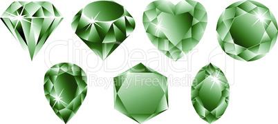 green diamonds collection