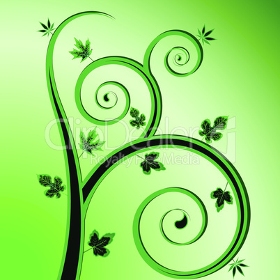 green plant design