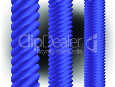 blue vertical columns