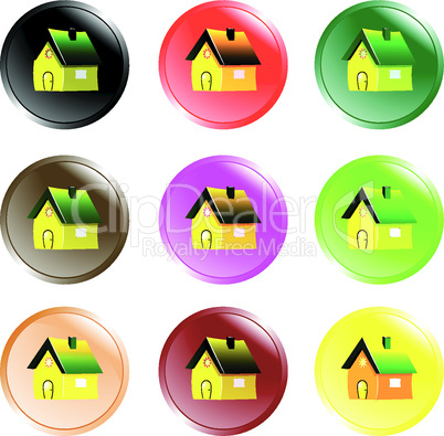 house button icons