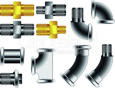 water pipe connectors