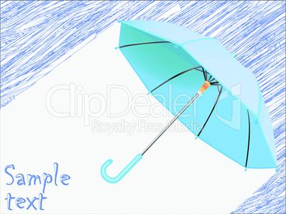 raining concept