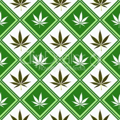 cannabis seamless texture