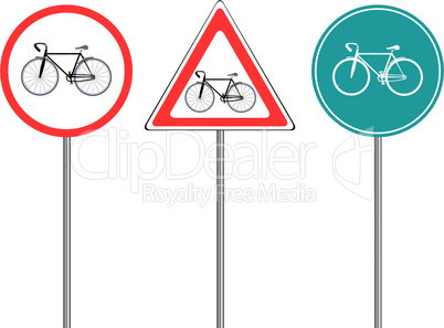 bike traffic signs