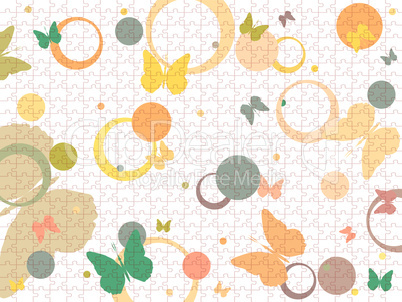 butterflies and bubbles puzzle