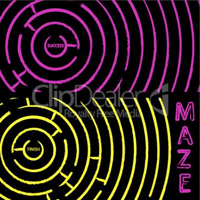 maze composition