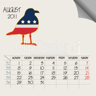 august 2011 animals