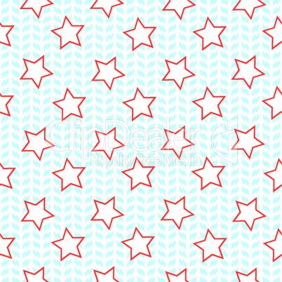 stars seamless pettern