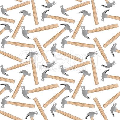 hammer seamless pattern