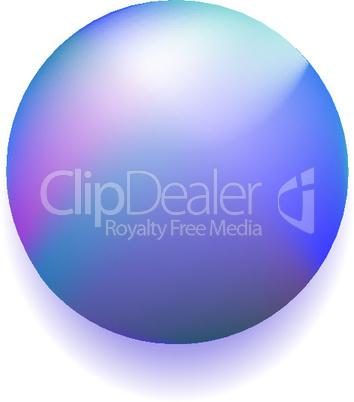 blue magic ball