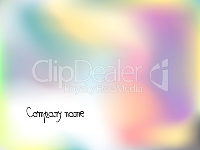 company abstract template
