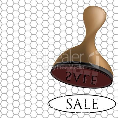 sale 3d stamp