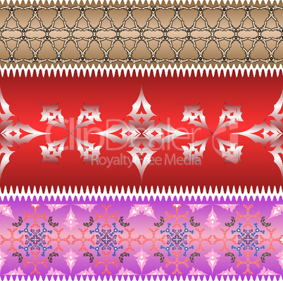 ornamental design ribbons
