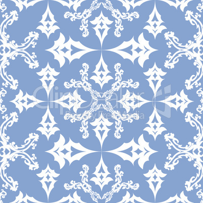 floral victorian seamless pattern
