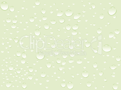 water green drops pattern