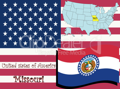 missouri state illustration