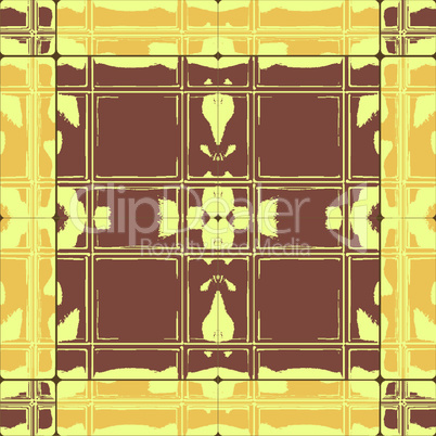 grunge brown yellow ceramic tiles