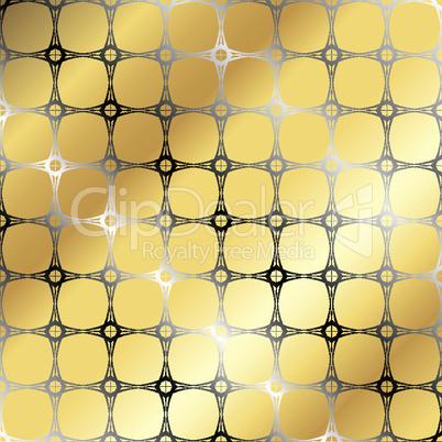gold stripes pattern