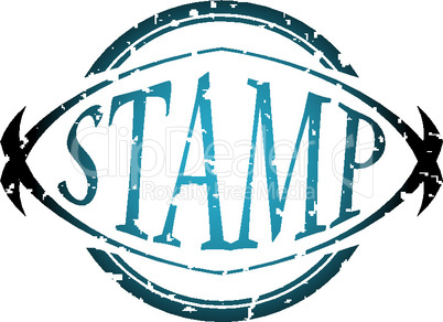 stamp illustration