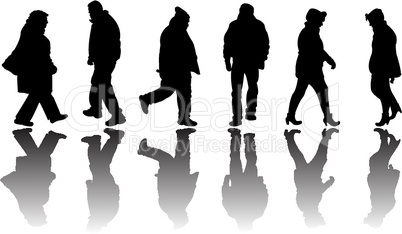 people black silhouettes 3
