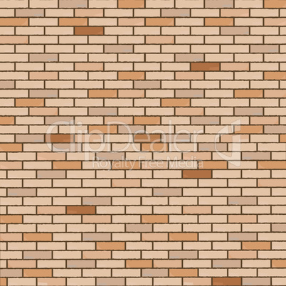 wall made of bricks