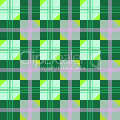 nice texture with green geometric figures