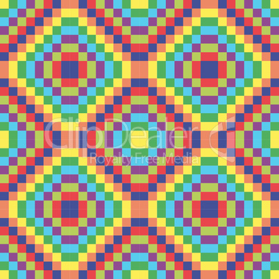 square seamless retro texture