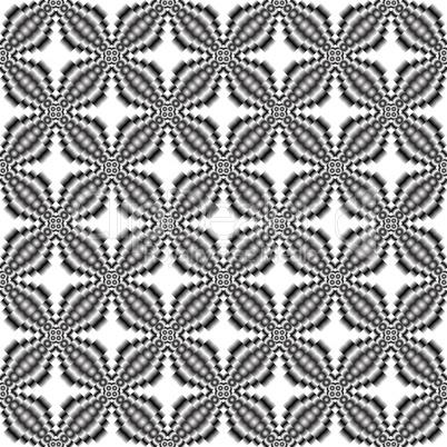 metallic flowers seamless texture