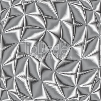 twisted metallic texture