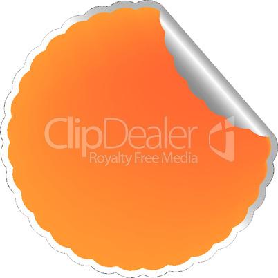 flowerish orange label