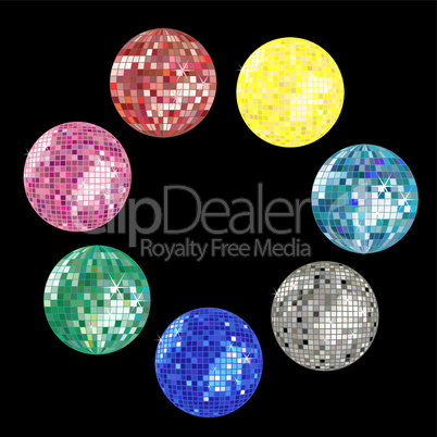 disco ball collection