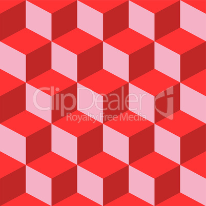 psychedelic pattern mixed red